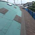 屋根工事スタート