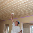 天井材の塗装