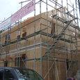 小屋壁・屋根タル木の施工