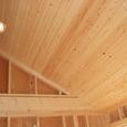 2階の勾配天井