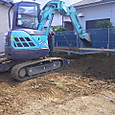基礎工事:掘削