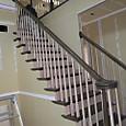 リビング階段施工