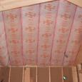 2階勾配天井の内部断熱