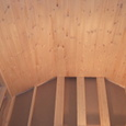 2階勾配天井の北欧パイン