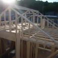 2F天井及び小屋壁