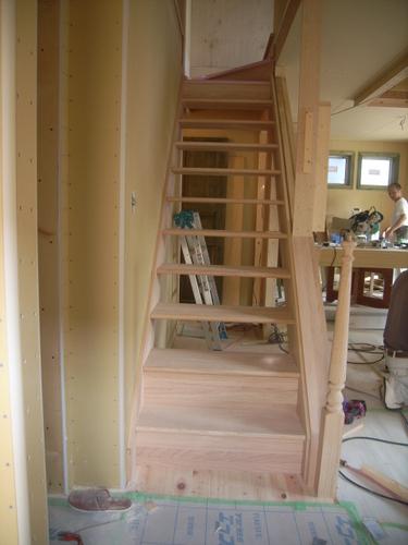 階段造り その2