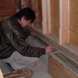 外壁部 床の気密 2