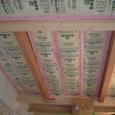 1階天井の断熱