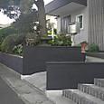 流山市S邸外構塀塗装2